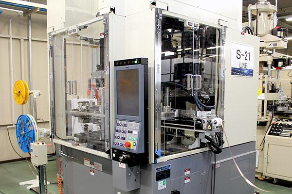 富山工場設備の組立設備1